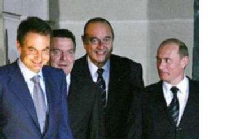 Мадрид - Париж - Берлин - Москва: мирная Европа picture