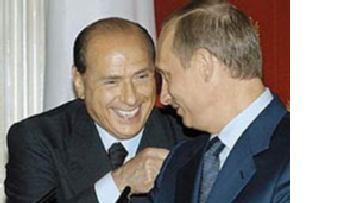 Путина и Берлускони связывают деловые отношения picture