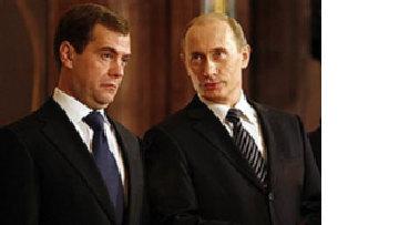 Путин и Медведев: братья Наполеоны picture