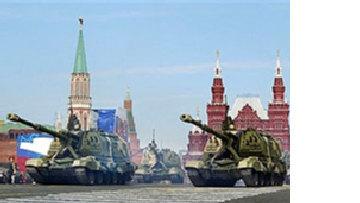 Россия выводит танки из гаража ради парада в Москве picture