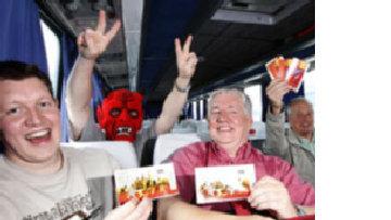 Москва спокойно встречает нашествие британских фанатов picture