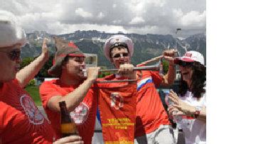 Спортивный успех способствует возрождению патриотизма в России picture
