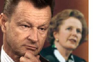 Збигнев Бжезинский и Маргарет Тэтчер поддерживают стремления латышей осудить зловещий коммунизм picture