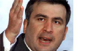 Саакашвили выступает с предостережением о российской реакции на кризис picture
