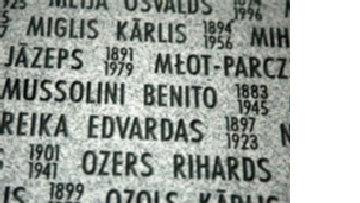 Латвия чтит память... Муссолини picture