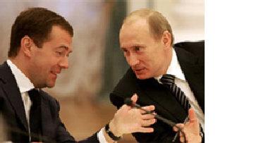 В парном танце Путин-Медведев ведет Путин picture