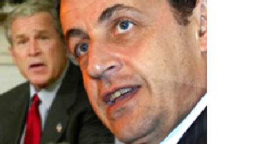 """Саркози """"попинал"""" Буша picture"""