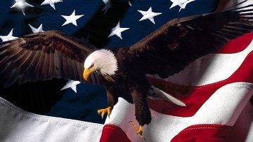 флаг сша орел
