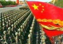 китай парад флаг
