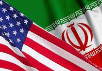 флаги иран сша