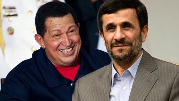 Ахмадинежад Чавес