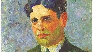 портрет Освальда де Андраде