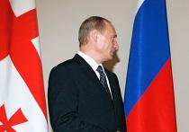 Путин флаги Россия Грузия