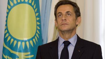 Визит президента Франции Николя Саркози в Казахстан