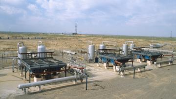 Установка предварительной подготовки газа