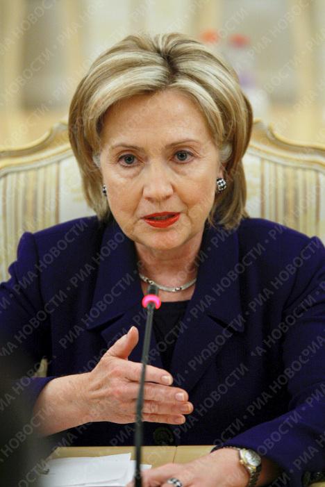 Визит госсекретаря США Хиллари Клинтон в Москву