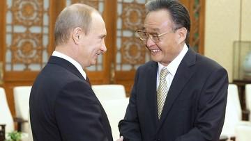 Продолжается визит В. Путина в КНР. 14 октября 2009 года