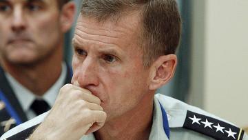 главный американский генерал в Афганистане Стэнли Маккристал