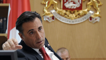 Американский актер Энди Гарсия в роли грузинского президента Михаила Саакашвили