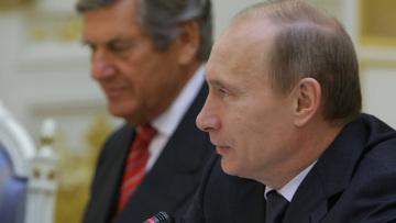 Встреча В.Путина с членами германских деловых кругов
