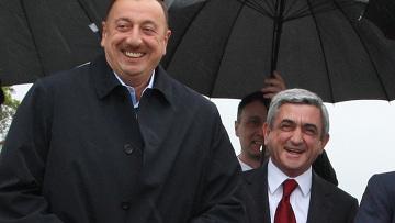 Президенты России, Армении и Азербайджана в Санкт-Петербурге