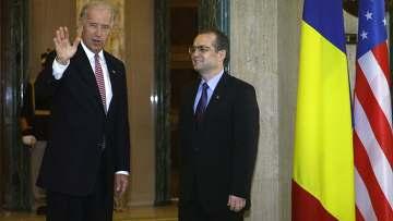 Вице-президент США Джозеф Байден встретился с действующим премьер-министром Эмилем Боком