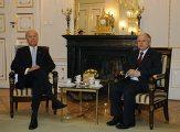 Вице-президент США Джозеф Байден и президент Польши Лех Качинский