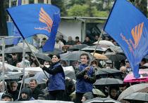 Массовые акции протеста в Тбилиси
