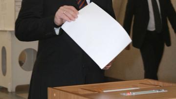 В.Путин проголосовал на выборах депутатов Мосгордумы