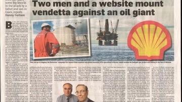 Альфред Донован газета Shell