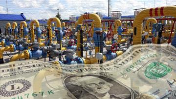 газопровод доллар деньги
