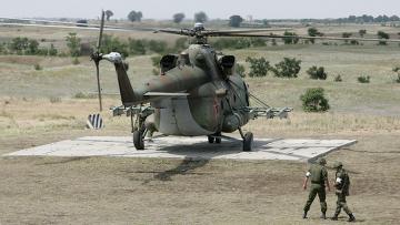 Кавказ, вертолетная площадка