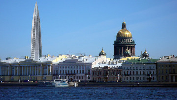 Виды Санкт-Петербурга Охта-Центр