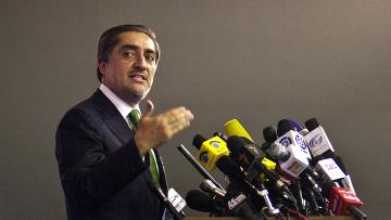 Абдулла Абдулла - кандидат на выборах президента в Афганистане
