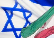 флаги израиль иран