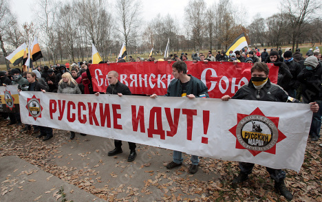 "Smolny had agreed ""Russian march"" on the outskirts of St"