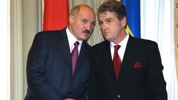 Встреча В.Ющенко и А.Лукашенко
