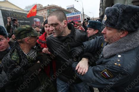 """Задержан координатор движения """"Левый фронт"""" Сергей Удальцов"""