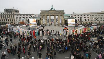 Празднование 20-летия падения Берлинской стены