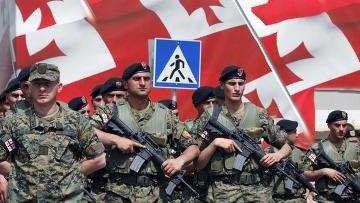 солдаты армии грузии