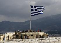 Греческий национальный флаг
