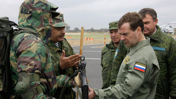 Однодневный визит президента РФ в Калининградскую область