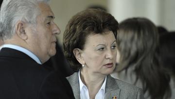 Владимир Воронин и Зинаида Гречаная