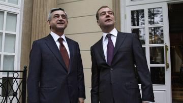 Д.Медведев и С.Саргсян