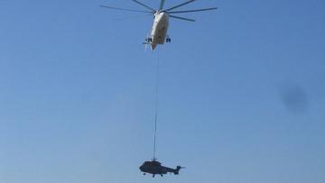 """Альт: """"Вертикаль-Т"""" провела в Афганистане операцию по спасению вертолета, принадлежащего ВВС Нидерландов."""