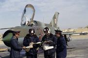 Экипаж летного подразделения афганской армии