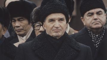 Похороны Л.И.Брежнева. Президент СРР Н.Чаушеску