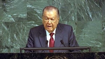 Бывший президент Венесуэлы Рафаэль Кальдера