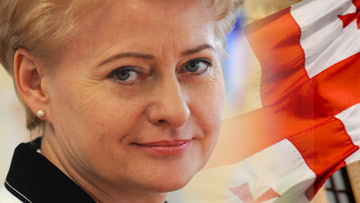 президент Литвы Даля Грибаускайте заявила, что месяца назад она поставила под вопрос деятельность Лауринкуса в качестве посла Литвы в Грузии