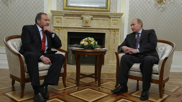 Встреча Владимира Путина с Авигдором Либерманом